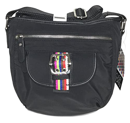 Tyler Rodan Black Oxford Mid Cross Body Handbags Amazoncom