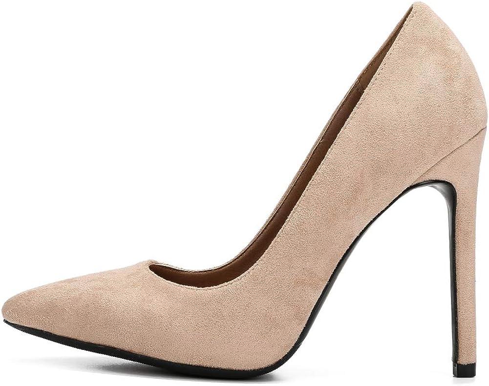 fereshte Womens Ankle Strap Stiletto High Heel Dress Sandals