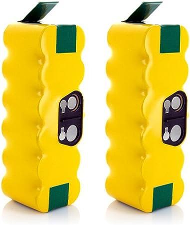 morpilot Batería de Reemplazo para iRobot Roomba, 2PCS 3800mAh ...