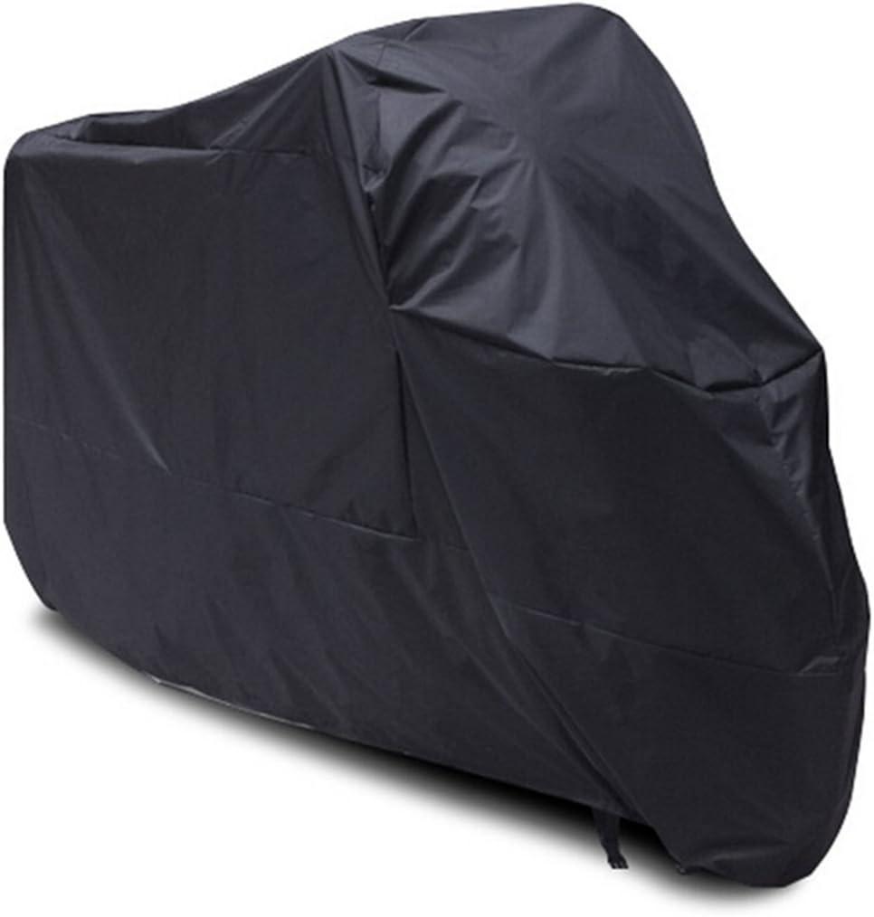 PIXNOR Motorcycle Waterproof Cover Black-XXL