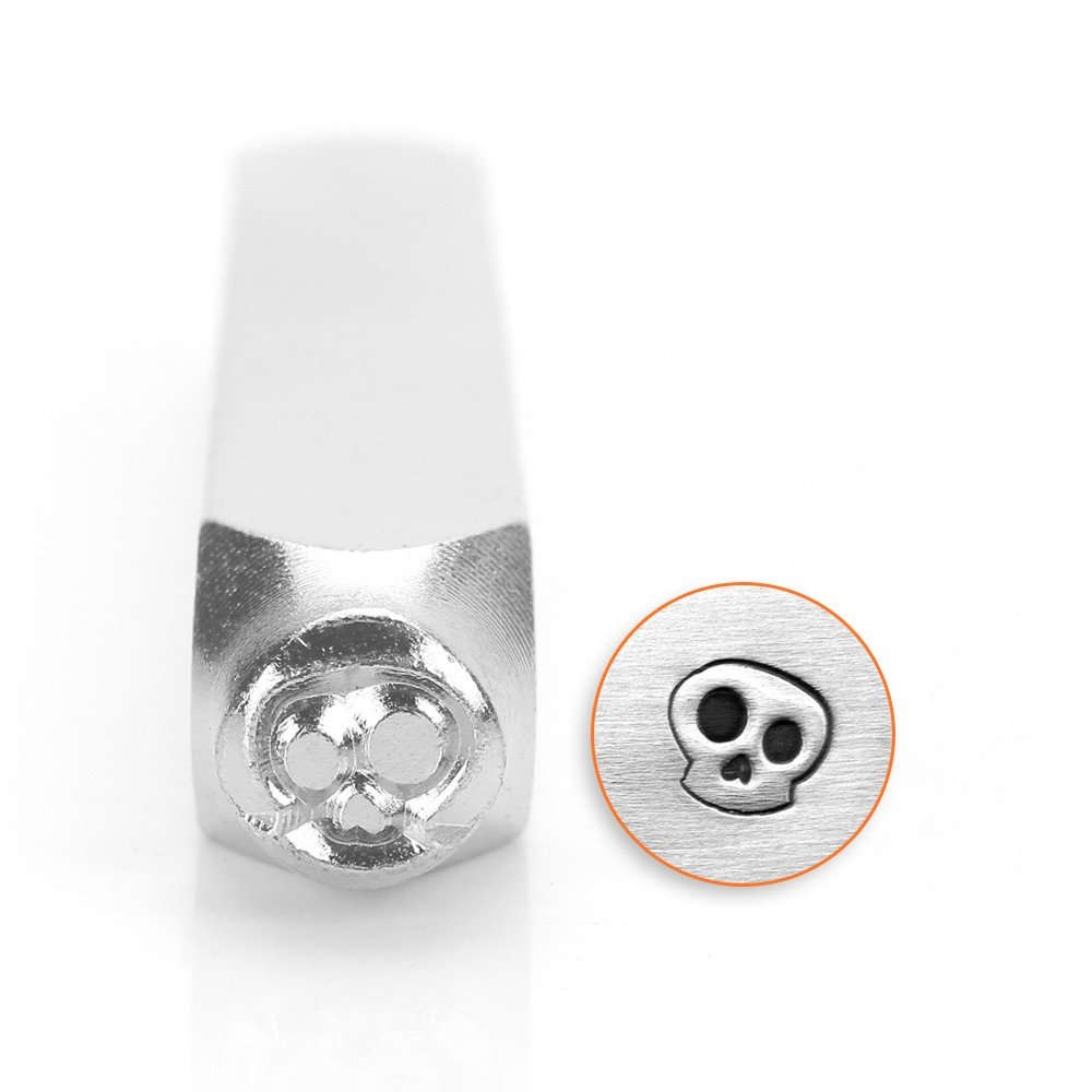ImpressArt- 6mm, Ghost Skull Design Stamp SC1515-C-6MM