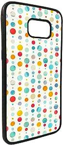 كفر جالكسي 7 ايدج  بتصميم دوائر ملونة كبيرة و صغيرة