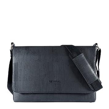 Messenger Bag Men Laptop Adjustable Shoulder Strap Vegan Non ...