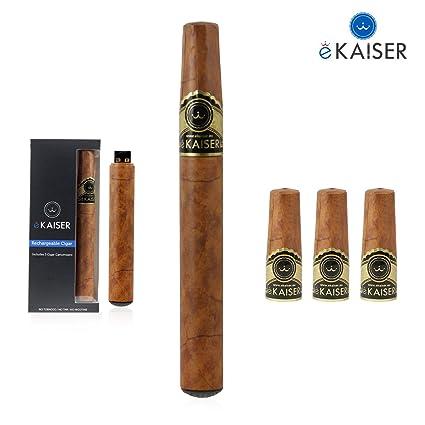Cigarro electrónico | corriente E recargable del cigarro | extraordinario 3 x Oro del cigarro Sabor