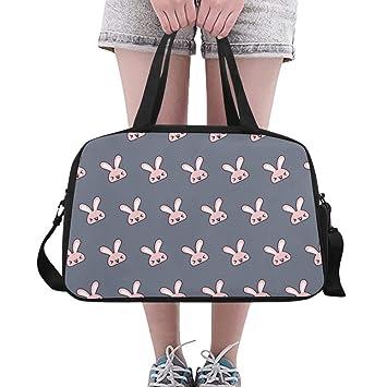 Mens Weekender Duffel Bag Orejas de Conejo Dibujos Animados ...