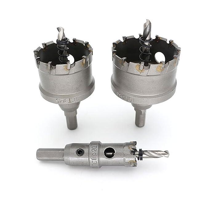 MagiDeal Hochleistungs-Bohrer Eisenbohrer Metallbohrer Set Schneidwerkzeug Sortiment Dunkelgrau Dunkelgrau 30mm