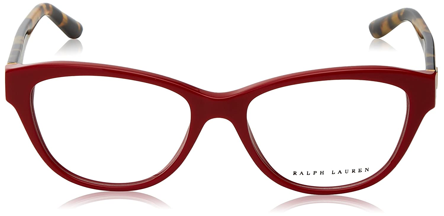 Shiny Laque Red RL6145-5599-54 Ralph Lauren RL6145 Eyeglass Frames 5599-54