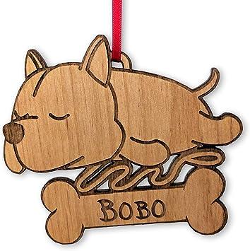 Amazon.com: Adorno de madera para amante de los perros ...