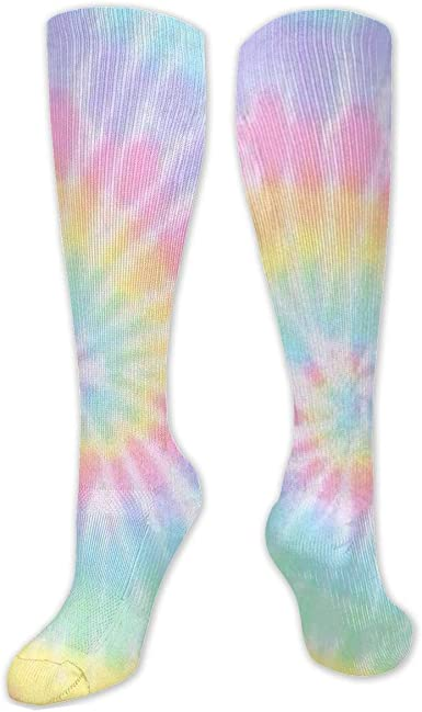 Pastel Tie Dye Bamboo Socks
