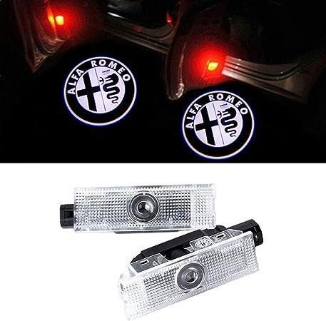 Geeandly 2 Stück Autotür Logo Türbeleuchtung Einstiegsleuchte Projektor Licht Willkommen Licht Auto