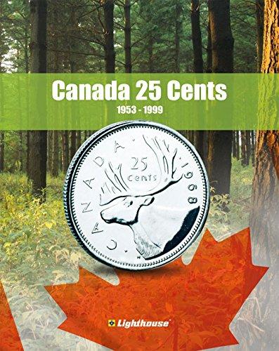 Lighthouse VISTA Coin Album for Canada 25 Cent, Vol. 2 1953 - 1999