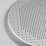 Fenteer Premium Aluminum Alloy Pizza Plate Round