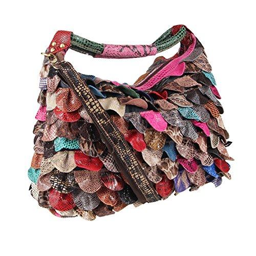 Couture Multicolore donna Multicolore 40x30x16 Only Borsa OBC mano Beautiful BxHxT cm a SEqARa