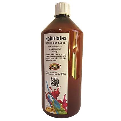 Leche de látex líquida natural 1 ...