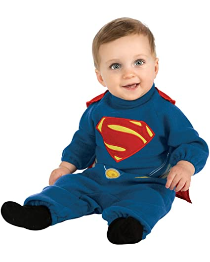 Superman Niño Disfraz con Cape para Fasching & Halloween: Amazon ...