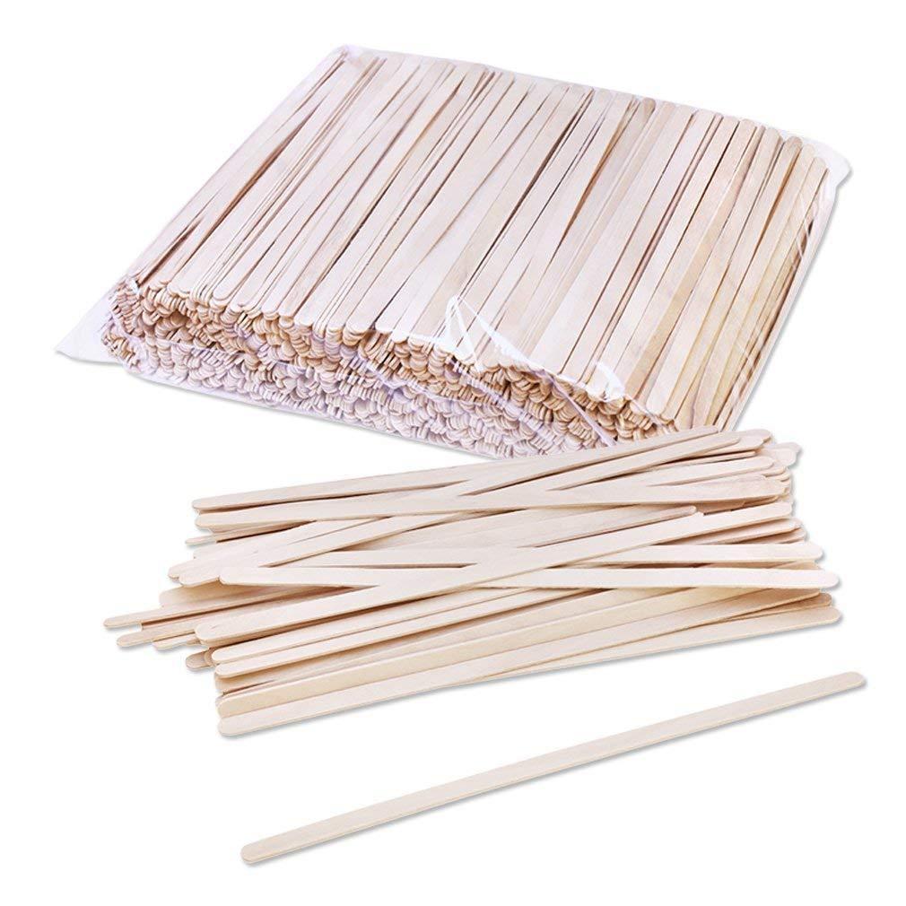 Solo Birch Wood Stirrers Coffee stir Sticks C-10C, 7-Inch (1800 Count) (1800 Count)