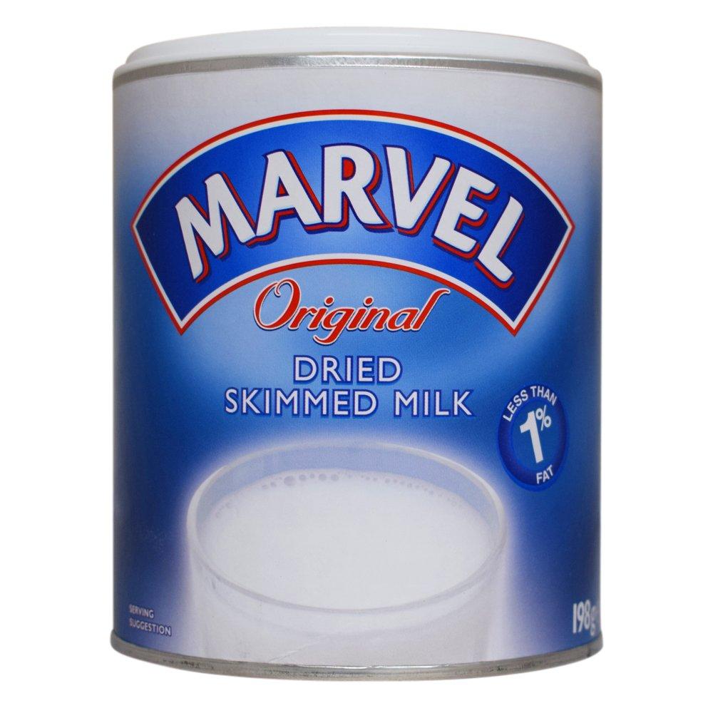 Marvel Original Dreid Skimmed Milk 12 x 198gm