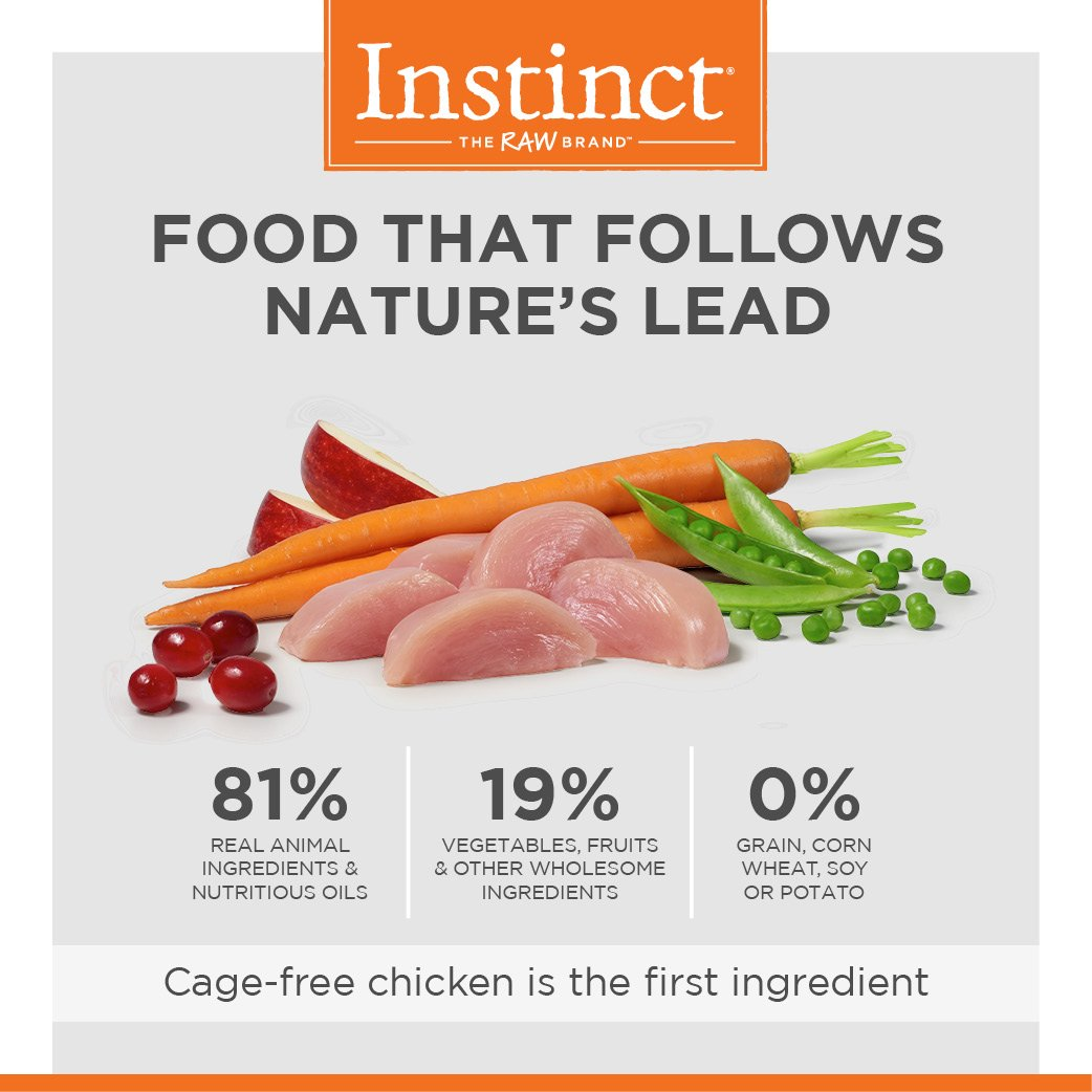 Instinct Original Grain Free Recipe with Real Chicken Natural Dry Cat Food by Nature's Variety, 11 lb. Bag by Instinct (Image #4)