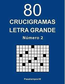 80 Crucigramas Letra Grande - N. 2 (Volume 2) (Spanish Edition)