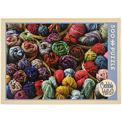 Cobble Hill Balls of Yarn 500 Piece Jigsaw Puzzle