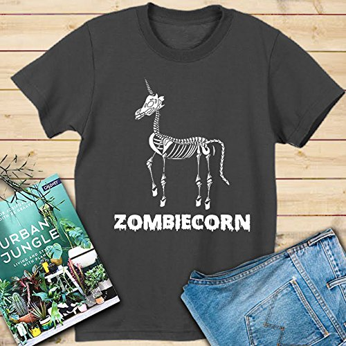 (Amazing Zombiecorn Shirt for women this Halloween Fast Shipping Size Up To)