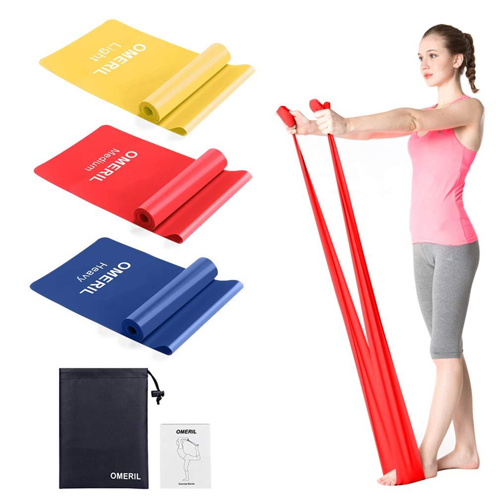 Bandas elásticas fitness, cintas elásticas fitness con 3 niveles de resistencia