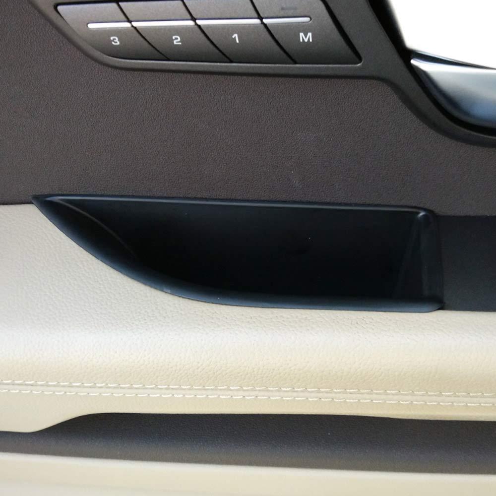 2015/Jahr Zubeh/ör 2/x Auto Schwarz ABS Front Row T/ür Aufbewahrungsbox f/ür RR Evoque 2012