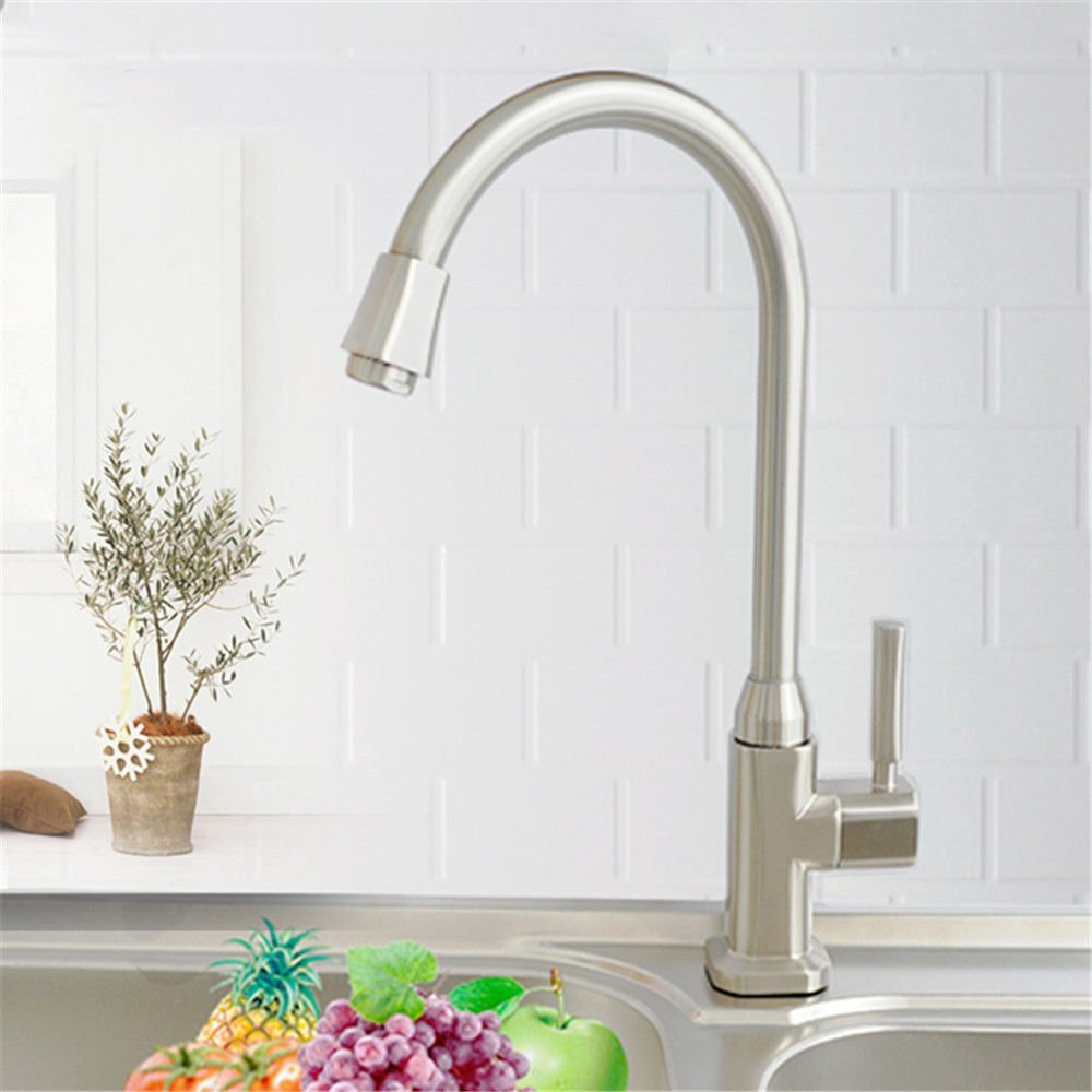 Gyps Faucet Basin Mixer Tap Waterfall Faucet Antique Bathroom Mixer Bar Mixer Shower Set Tap antique bathroom faucet The Kitchen single cold tap full copper spool brushed to redate the high bend Fauce