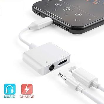 IMBCYL Adaptador de Auriculares para iPhone Adaptador ...