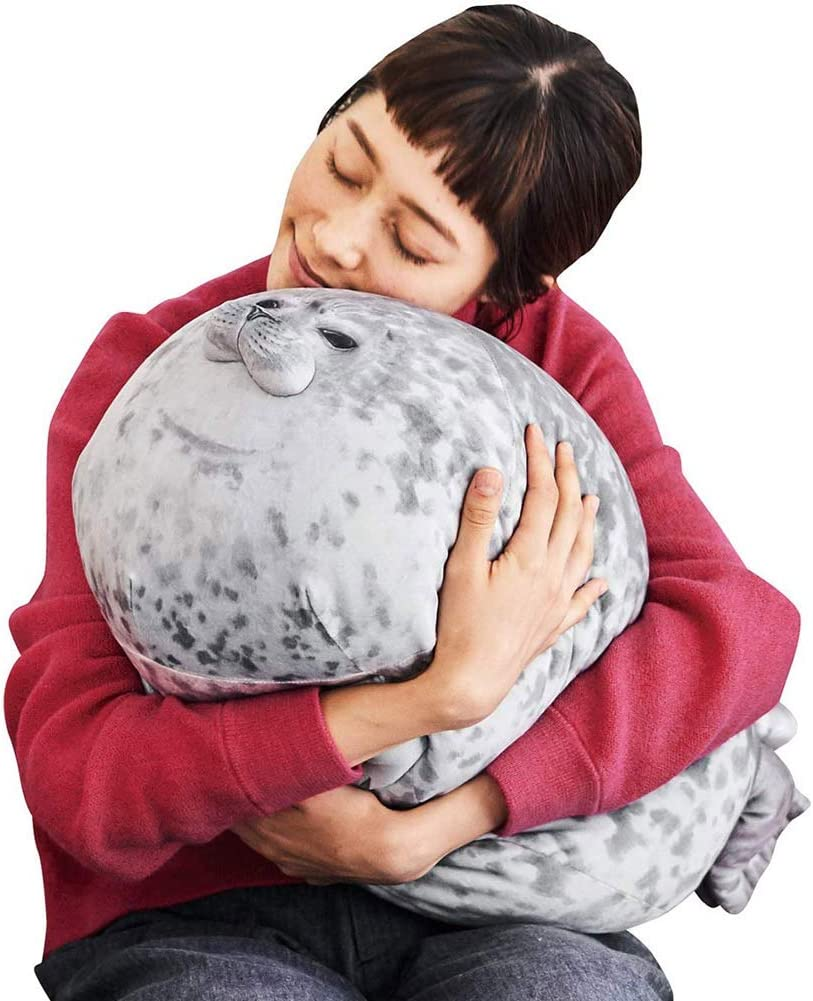 30 Soft Seal Plush Stuffed Plush Housewarming Party Hold Pillow 3D Novelty Throw Pillows 40 and 60 PerGrate New Creative Dolphin Pillow