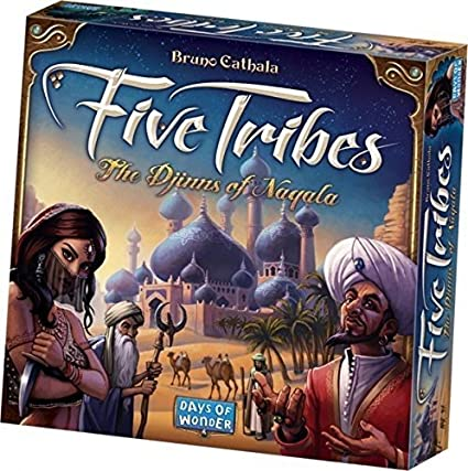 amazon com days of wonder five tribes toys games