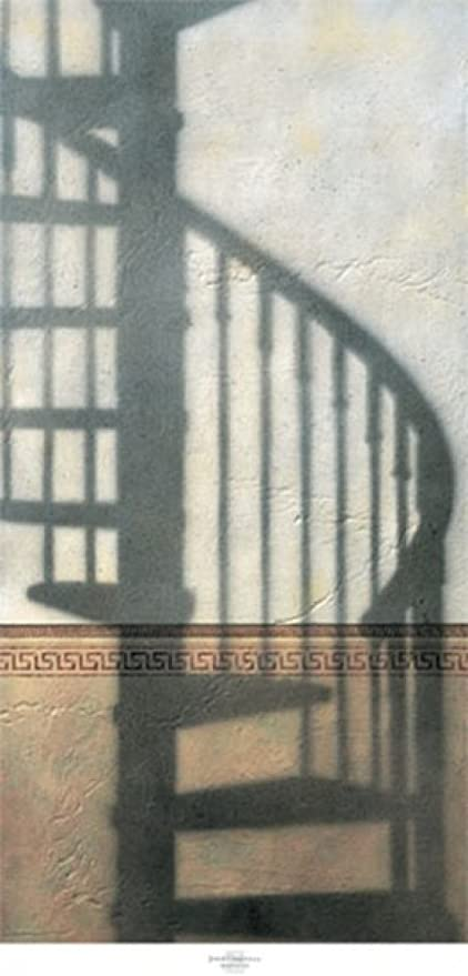Josep Cisquella – Escalera de caracol Artistica di Stampa (60,96 x 127,00 cm): Amazon.es: Hogar