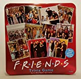 Friends Trivia Game with Picture Cards; in a Collectible Red Tin