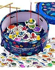 Jaques of London Magnetisch visspel | Speelgoed voor 2 3 4 5 Jaar Oude Jongens & Meisjes | Magnetisch Speelgoed | Sinds 1795