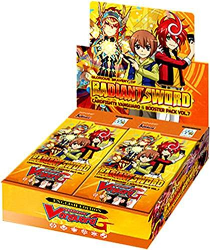 Cardfight Vanguard G VGE-G-BT07 Glorious Bravery Of Radiant Sword Booster Box - 30 packs / 5 cards by Cardfight Vanguard