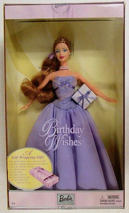 Amazon.com: Barbie deseos de cumpleaños – Lavanda: Toys & Games
