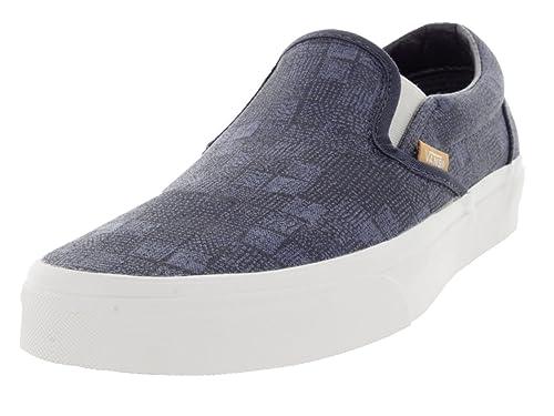 Vans U Classic Slip-ON BLK/FORMULAONEC - Mocasines Unisex Adulto: Amazon.es: Zapatos y complementos
