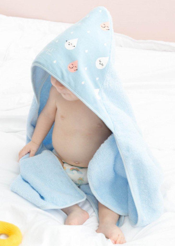 Toalla de baño Mr. Wonderful para bebé con capucha 8435460730693