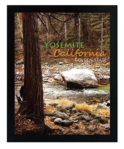 - Golden State Art, 11x14 Inch Poster Frame - Black - Landscape/Portrait - Swivel Tabs - Simple and Stylish