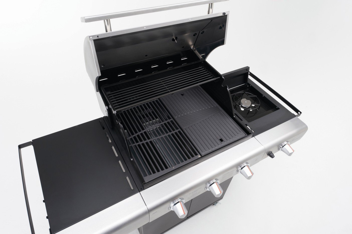 Landmann Gasgrill 3 Brenner : Gasgrill in outdoor küche integrieren ikea küche laxarby schwarz