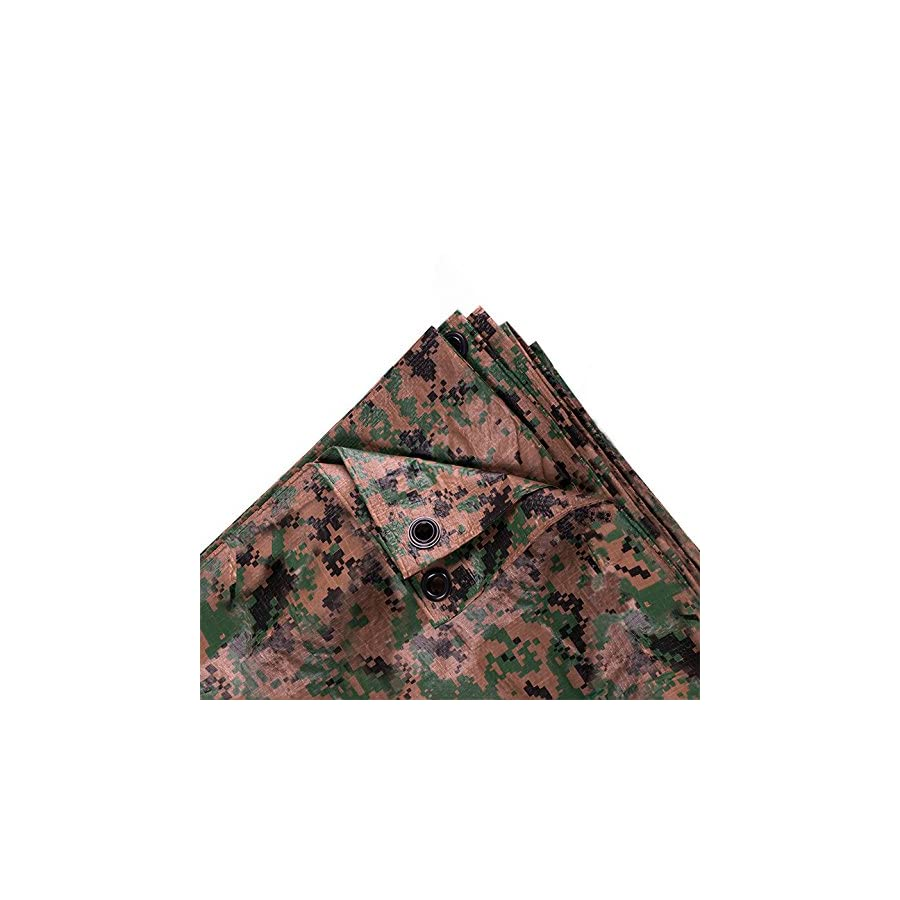 Stansport Digital Woodland Camo Tarp
