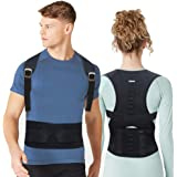 Back Brace Posture Corrector for Men - Posture Corrector for Women - Upper Back Posture Corrector Providing Lumbar Support - Adjustable Back Brace Back Straightener for Clavicle Support Back Pain Reli