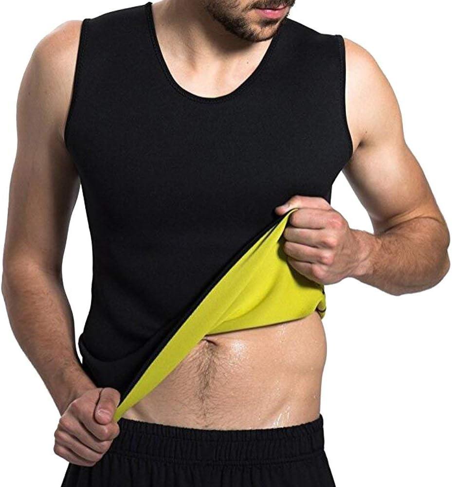 Youkap Camisa de compresión para Hombres Que Adelgaza Caliente instantánea pérdida de Peso Vientre Grasa Love Asas Remover Cuerpo Shaper
