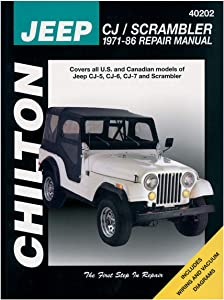 Haynes 40202 Chilton 1971-86 Cj Manual