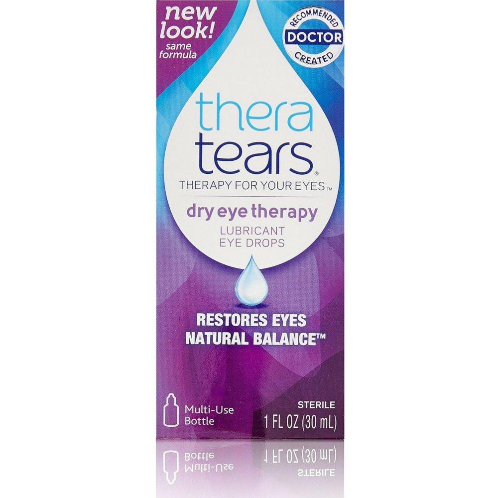 TheraTears Lubricant Eye Drops-1 oz, 2 pk