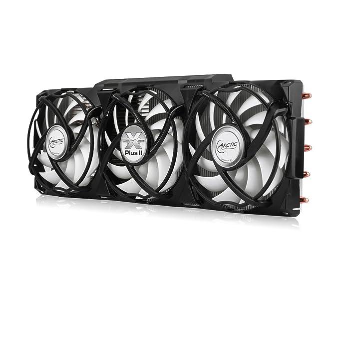 ARCTIC Accelero Xtreme PLUS II Tarjeta de video Enfriador - Ventilador de PC (Tarjeta de video, Enfriador, 9,2 cm, 900 RPM, 2000 RPM, 24,4 dB): Amazon.es: ...