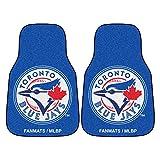 Fanmats 6360 MLB Toronto Blue Jays Nylon Face Carpet Car Mat