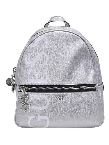 rivenditore di vendita 1fa8f a16be Guess Urban Chic Large Backpack donna, zaino, argento, One ...