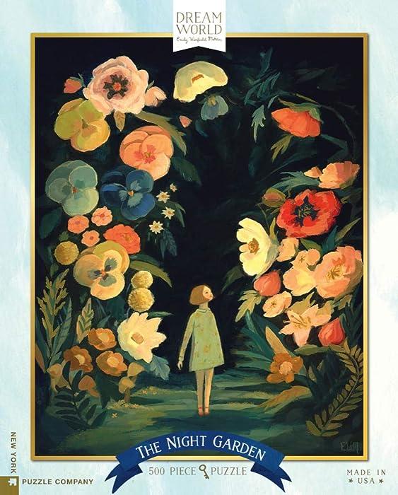 New York Puzzle Company - Dream World The Night Garden - 500 Piece Jigsaw Puzzle