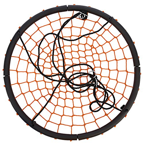 "New Ancheer Net Tree Swing Spider Web Swing for Children, 40"" Diameter Extra Large Swing for Playground for sale"
